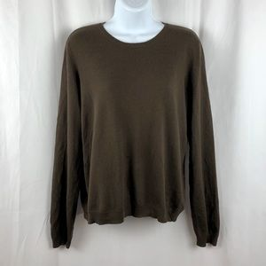 Ralph Lauren silk blend pullover sweater L
